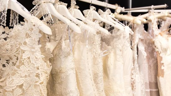 Some of our great wedding dresses.