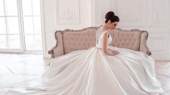 One of our great wedding dresses